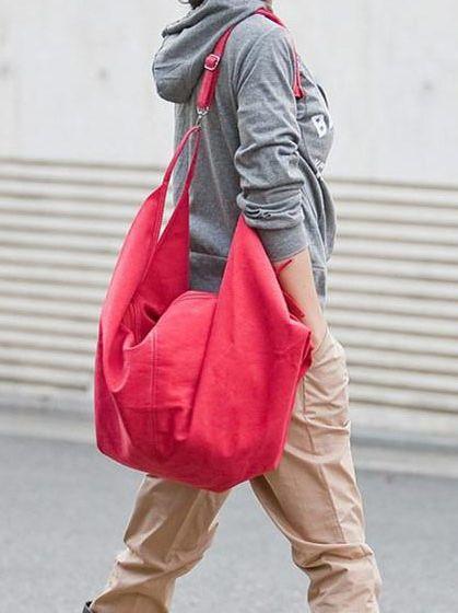 Simple New Canvas Large Capacity Satchel Purse Bag