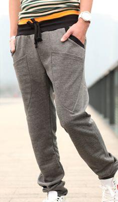 Hot Sale New Men's Casual Long Sports Wear Slim Pants