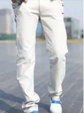 Vogue New Man Slim Fit Long Pants Light Gray