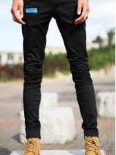2012 New Fashion Men Casual Long Pants Black