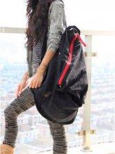 Stylish New Canvas Zip up Large Capacity Backpack