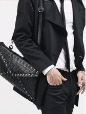 New Vogue Women Skull Pattern Handbag Satchel Bag