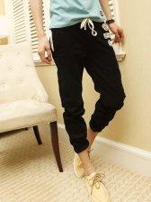 Fashionable Men's Candy Color Corduroy Casual Long Pants