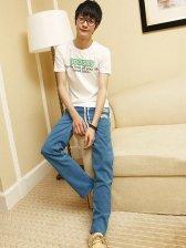 Popular New Men's Corduroy Drawstring Casual Pants