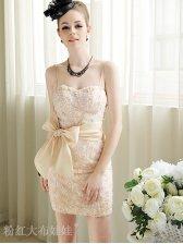 2012 Summer New Stylish Flower Tight Straps Dress