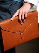Men Japan Fashion High Quality Magnetic Button PU Leather Handbag