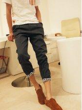 Brand New Men Pockets Designed Skinny Long Pants