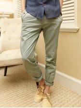 New Fashion Man's Natural Waist Straight Long Pants