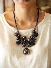 2012 New Women Elegant Beaded Necklace