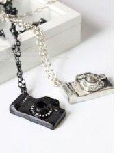New Women Fashion Designed Camera Necklace