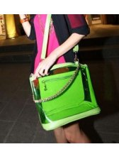 Summer New Vogue Candy Color One Shoulder Satchel Bag