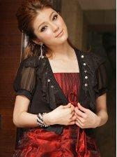 2012 Korea New Stylish Lacework Chiffon Short Coat