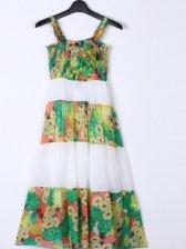 Summer Bohemian Style Floral Sleeveless Dress