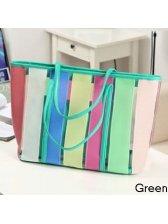 Summer New Fashion Color Block Lady's One Shoulder Bag