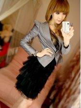 Wholesale Lady's Vogue Slim Fit One Button Western-style Suit