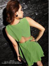 Charming Women Chiffon Princess Tank Mini Dress