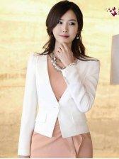 Hot Sale Pure Color Slim One Button Suit