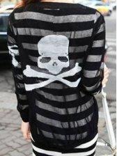 Hot Sale 2012 New Stylish Skeleton See-through Short Coat