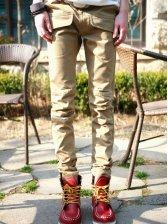 Popular Men Hot Sale Big Pockets Decoration Casual Long Pants
