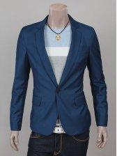 Stylish Men Casual Slim Fit Short Suit Coat