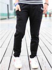 Hot Sale Men Casual Pure Color Long Pants