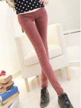 High-quality Cotton Denim Pencil Pants