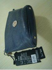 Vogued Women Zipper Opening Rhinestone Clutch Bag