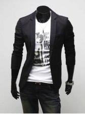 Korean Fashion Pure Color One Button Casual Suit