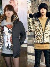 New Korean Style Two Ways to Wear Cotton Couple Wear