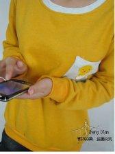 Korean Style Loose Cute Crew-collar Hoody
