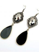 Street Fashion Women Artificial Diamond Earrings