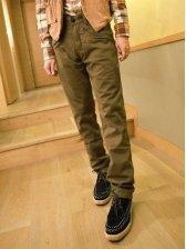 Hot Sale Pockets Design Casual Cotton Long Pants