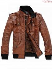 British New Stand Collar Zipper Jacket With Pocket