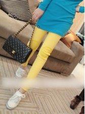 Hot Sale Patch Design Slim Stretchable Legging