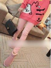 Wholesale Patch Design Slim Stretchable Legging