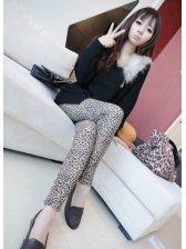 New Arrival Leopard Pattern Slim Fit Leggings