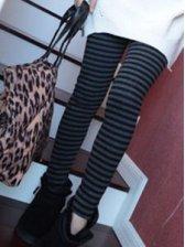 Hot Sale Stripes Pattern Slim Fit Leggings