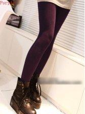 Autumn Fashion Pure Color Slim Leggings