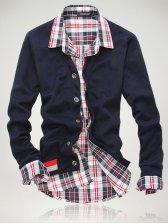 New Fashion V Neck Single-breasted Cotton Cardigan