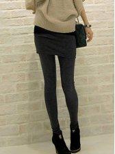 New Vogue Thickened Slim Skirt Pants Leggings