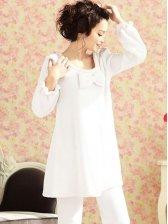 New Winter Fashion Coral Fleece Casual Pajamas Sets