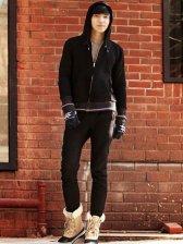 Modern Fashion Pockets Drawstring Hooded Casual Activewear