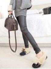 Modern Fashion Slim Fit Leggings In Black