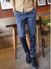 New Modern Men Cotton Cozy Casual Long Pants