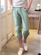 Men Fashion Individual Tailoring Cropped Pants