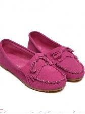 New Fashion Bowknot Round Toe Tassel Flat Shoes