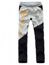 Modern Chinese Printing Color Matching Olympic  Pants