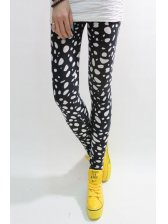 Fashion Arrival Spot Print Thickening Slim Leggings