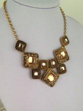 Noble Lady Diamonds Studded Sweater Necklace