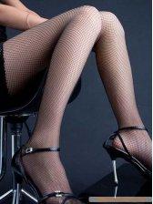 2013 Wholesale See-through Seamless Diamond Net Pantyhose